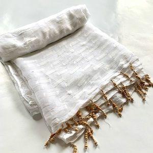 ARIZALI Beaded Tassel Long Sarong